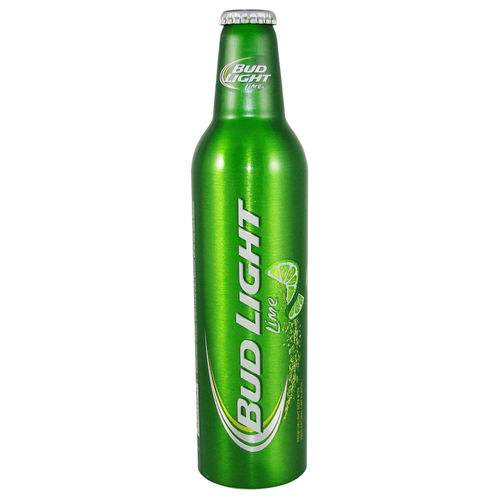 BUD LIGHT Lime Premium Light Beer, 473 ml-Alu-Flasche, 16 fl. oz.