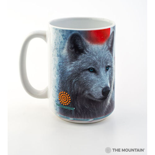 THE MOUNTAIN® Kaffeebecher - Canadian White Wolf