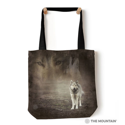 THE MOUNTAIN® Tragetasche - Grey Wolf Portrait