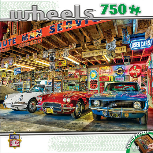 MasterPieces® Puzzle - Triple Threat, 750 Teile