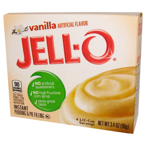 JELL-O® Instant Pudding & Pie Filling VANILLA, 96 g, 3,4 oz.