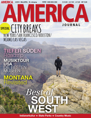AMERICA Journal - Ausgabe 2/2019 - März/April