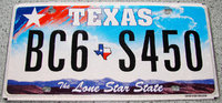 Original US License-Plates/ USA Nummernschilder