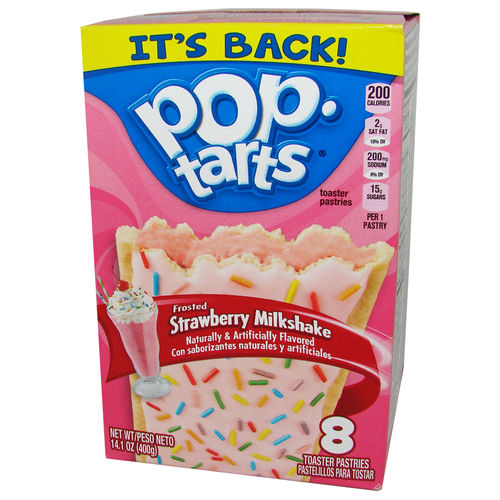 be878f21753124 Neu Kellogg s Pop-Tarts FROSTED Strawberry Milkshake
