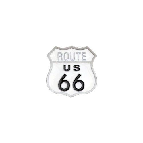 Pin - Route US 66® Sign, ca. 2,0 x 2,1 cm