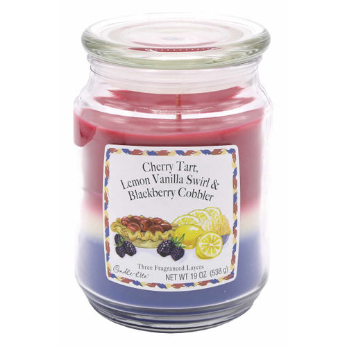 CANDLE-LITE™ Duftkerze Cherry Lemon Blackberry, 538 g