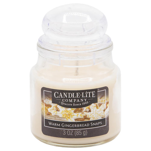 CANDLE-LITE™ Duftkerze Warm Gingerbread Snaps, 85 g