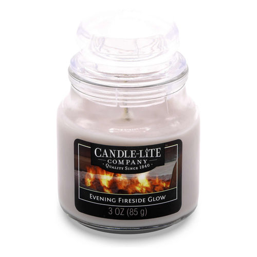CANDLE-LITE™ Duftkerze Evening Fireside Glow, 85 g