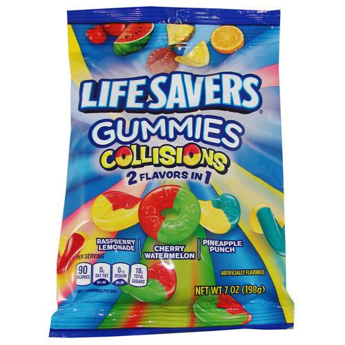 Life Savers® Gummies COLLISIONS Bag, 198 g, 7 oz.
