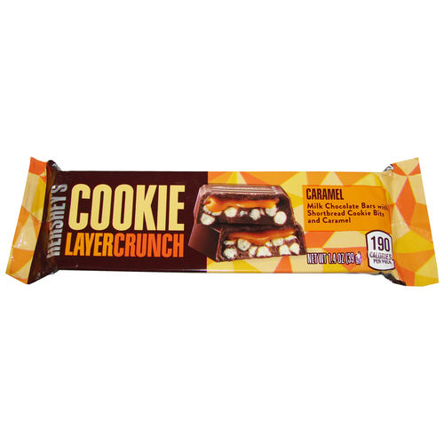 Hershey's - Cookie Layer Crunch Caramel Bars, 39 g
