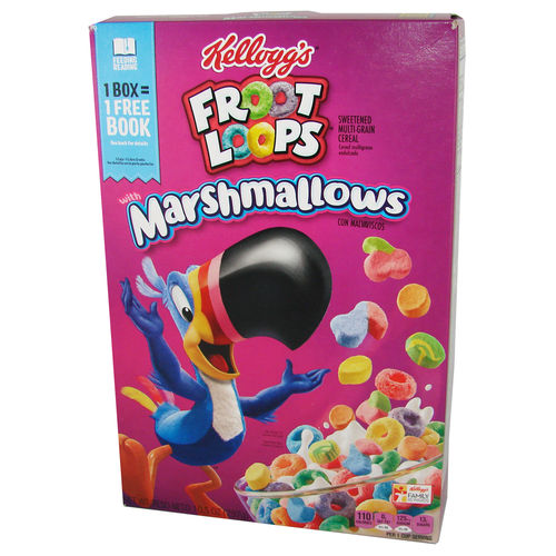 Kellogg's® FROOT LOOPS® with Marshmallows, 297 g