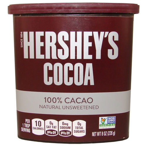 Hershey's - COCOA Powder - 100% Cacao, unsweetened, 226 g
