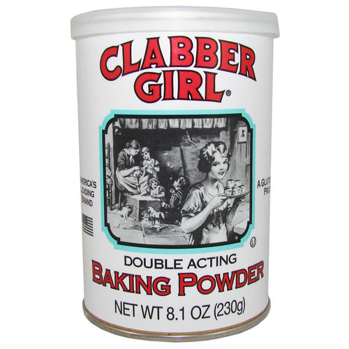 Clabber Girl® Baking Powder, 230 g, 8,1 oz.