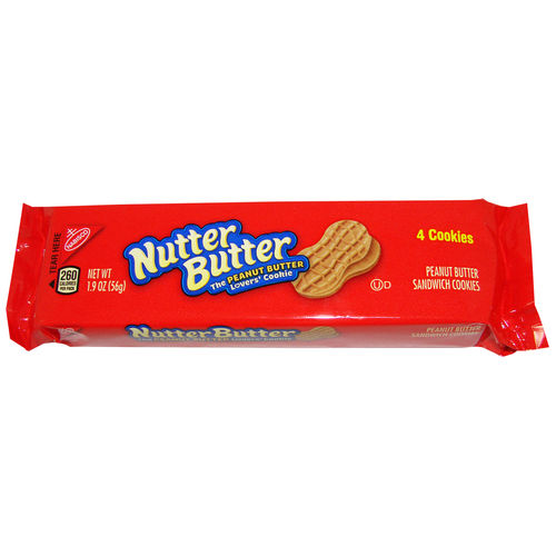 Nabisco® Nutter Butter Cookies, 56 g, 1.9 oz.