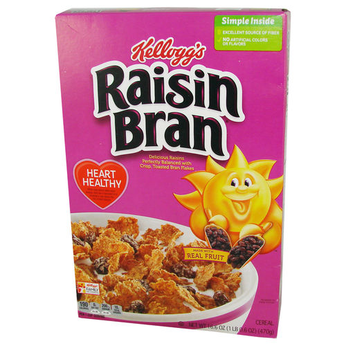 Kellogg's® Raisin Bran® Cereal, 470 g, 16.6 oz.