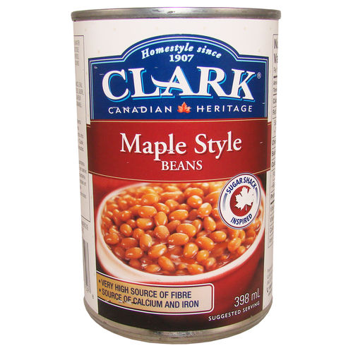 CLARK® Maple Style Beans, 398 ml, 13,5 fl. oz.