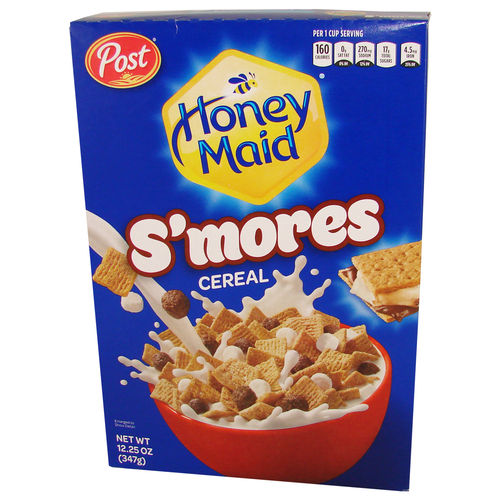 Post® Honey Maid® S'mores Cereal, 347 g, 12.25 oz.