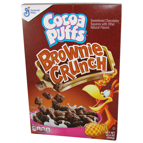 Cocoa Puffs™ Brownie Crunch Cereal, 294 g, 10,4 oz.