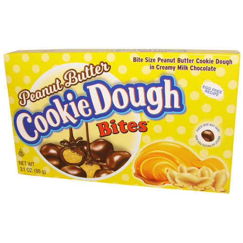 Cookie Dough Bites® Peanut Butter, 88 g, 3,1 oz.